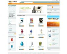 Large online store with 100 000+ products, built on Summer Cart shopping cart and further developed to support multiple vendors and products feeds..