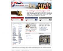 Web catalog with powerful search for English language schools in UK. Programming, design and integration are by Mirchev Ideas.