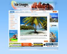 Social networking website with video postcards. Custom programming, design and integration are by Mirchev Ideas.