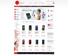 Online store of the biggest telecommunication company in Macedonia. Powered by Summer Cart shopping cart.