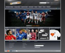 Online store of the leading sports news website in Bulgaria. Powered by Summer Cart shopping cart.