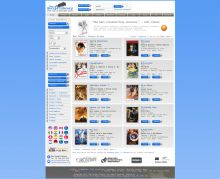 Online store for movie scripts with professional design and integration. Powered by Summer Cart shopping cart.