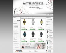 Online store for watches. Powered by Summer Cart shopping cart.