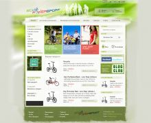 Online store for electric bikes, powered by Summer Cart shopping cart.