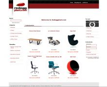 E-commerce website with custom web design, uses the X-Cart shopping cart.