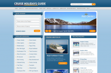 The ultimate online resource to researching cruise destinations and booking a pre-cruise hotel. Cruise Holidays Guide features suppliers from all sectors of the cruise industry including cruise agents, cruise lines and shore excursion companies.