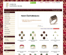 Harem Kuyumculuk offers a fine collection of golden jewelry with precious gems. Powered by Summer Cart shopping cart.