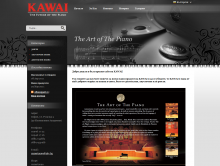 Online store for Bulgaria of the popular Japanese piano manufacturer Kawai. A wide range of concert grands, upright and digital pianos reaching hundred thousand dollars. Powered by Summer Cart shopping cart.
