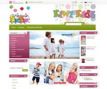 Kiwi Kids is a Slovenian online store with a fine collection for young children. Powered by Summer Cart shopping cart.