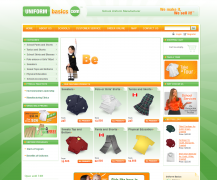 "Uniform Basics is a manufacturer and supplier of school uniforms, based in Ontario, USA. Their online store, powered by Summer Cart shopping cart, serves Montessori schools, Private schools, Catholic schools, and Christian schools. ""We make it, We sell it!"""